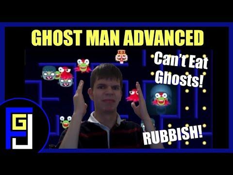 JimboPlays (37) - WORST PACMAN EVER! (Ghost Man Advanced)