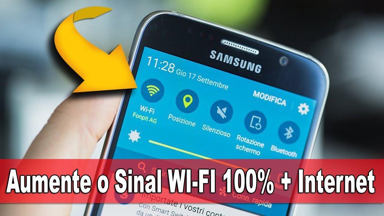 Como Aumentar O Sinal Wifi Do Seu Celular Android Atualizado
