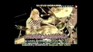 MUSICALISIMO Radio Oriental 2000 TV Promo Uruguay TEVEREC