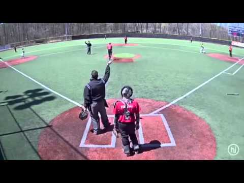 Over The Fence Home Run At Baseball Heaven Youtube