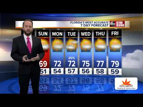 Florida's Most Accurate Forecast With Jason On Saturday, November 16, 2019