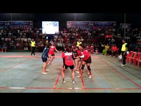 Virangani Warriors V/s Rising Stars (Girls Final) - Navi Mumbai Kabaddi League (Match no - 20)