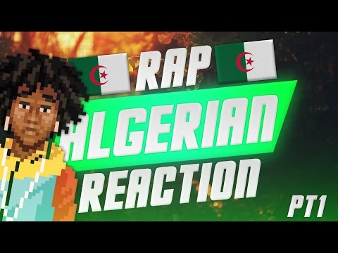 FIRST REACTION TO ALGERIAN RAP/HIP HOP PART 1
