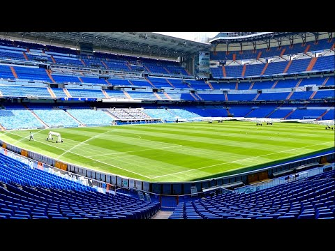 REAL MADRID Stadion Tour | Santiago Bernabeu Stadium