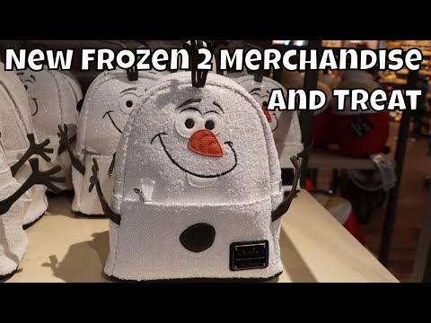 New Frozen 2 Merchandise and Treat At Disney Springs! - Walt Disney World 2019