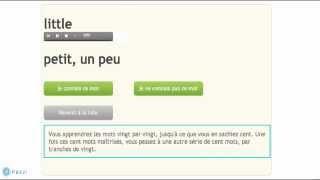 Cours d'anglais en ligne (apprendre mots anglais)