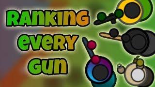RANKING EVERY GUN: WORST TO BEST -- UPDATED (Surviv.io)