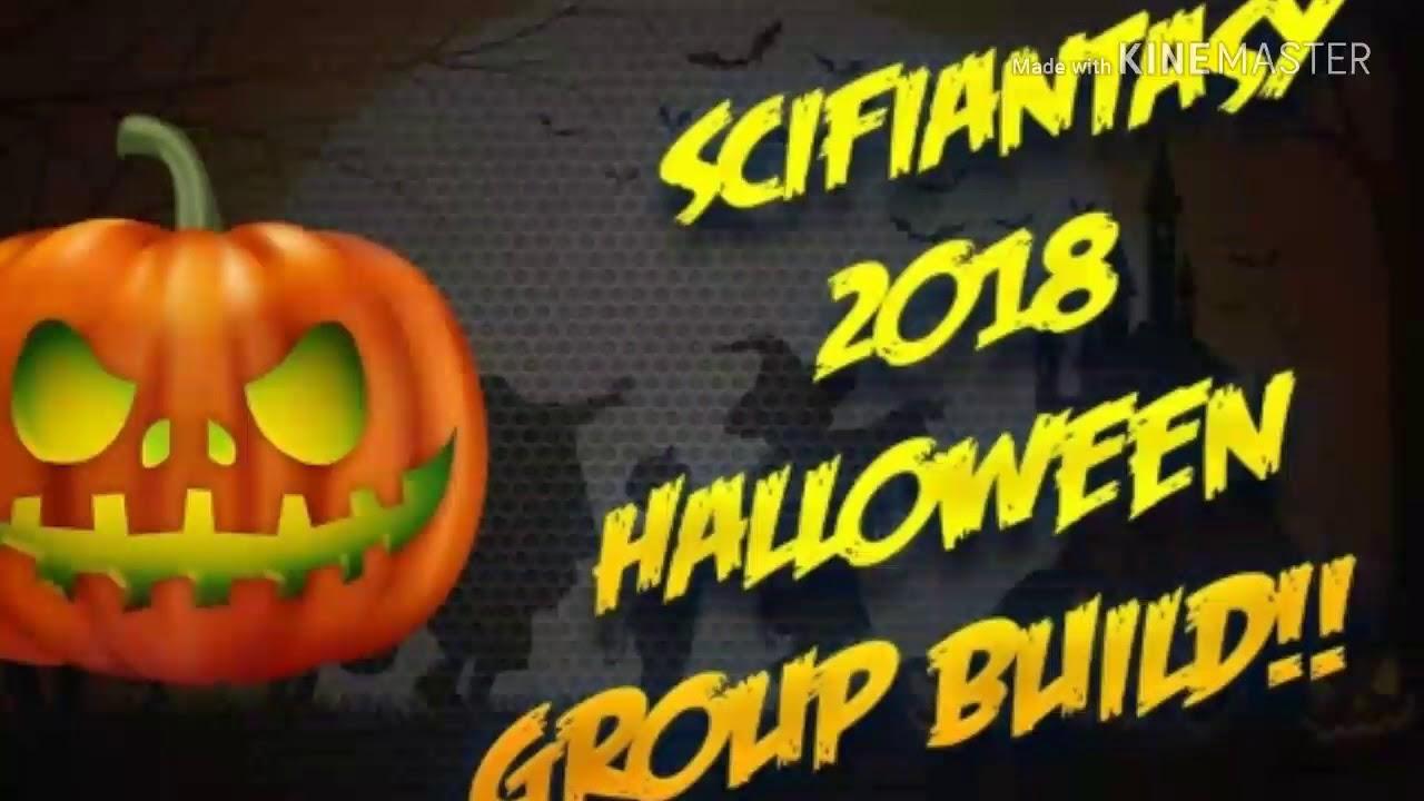 Scifiantasy 2018 Halloween group build part 2
