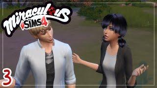 Marinette tenta chamar atenção do Adrien!   Miraculous Ladybug   The Sims 4   Ep. 03