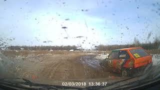 Автокросс Курск 3 02 18г Финал Д2Н пилот Бабакин В