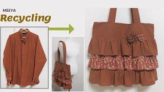 DIY Recycling Shirt|셔츠리폼|  가방 …