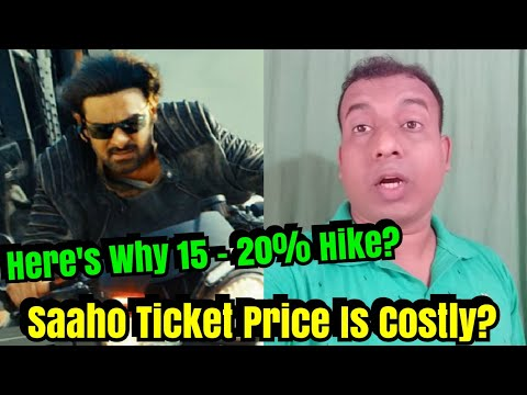 Saaho Ticket Price Witness Hike Up To 20 Percent? Here's Why Mp3