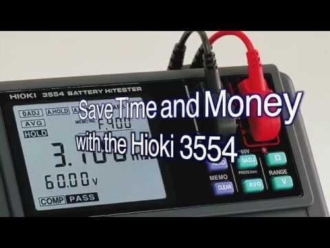 Hioki 3554 Battery HiTester