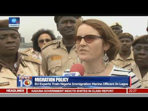 EU Experts Train Nigeria Immigration Marine Officers In Lagos