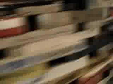bookwall at Czech Republic National Library in prague