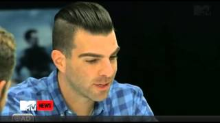 Zachary Quinto reading in Spock's voice.