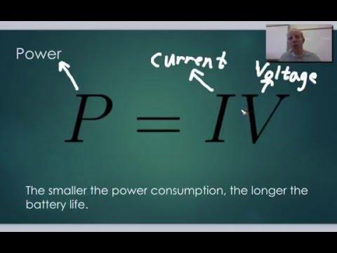 Physics 11.4 Power Consumption