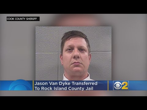 Police Officer Jason Van Dyke Transferred To Rock Island County Jail
