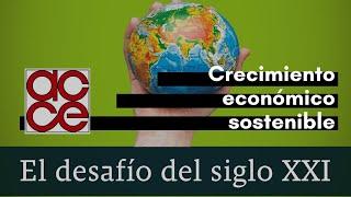 Crecimiento económico sostenible  El desafío del siglo XXI