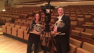 Berlin Phil Horns in 360 Degrees!