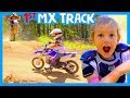 🏁 KIDS FIRST TIME ON A MX TRACK 🏍 My First Time Riding a Motocross Track 🏕 Highland Park Offroad