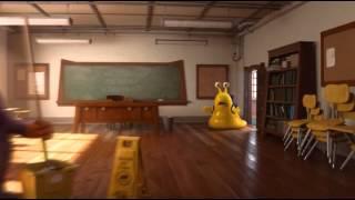 Monsters University. Корпорация монстров. Улитка спешит на урок!)))