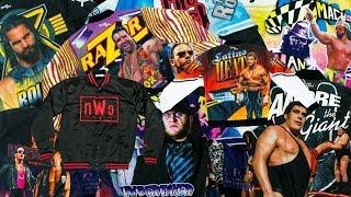WWE / WWF Retro Wrestling Jackets!!!