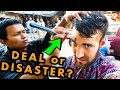 GETTING a $0.50 HAIRCUT from an INDIAN STREET BARBER | Deal or Disaster!?
