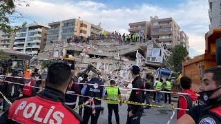 Earthquake Hits Turkey And Greece Triggering Tsunamis