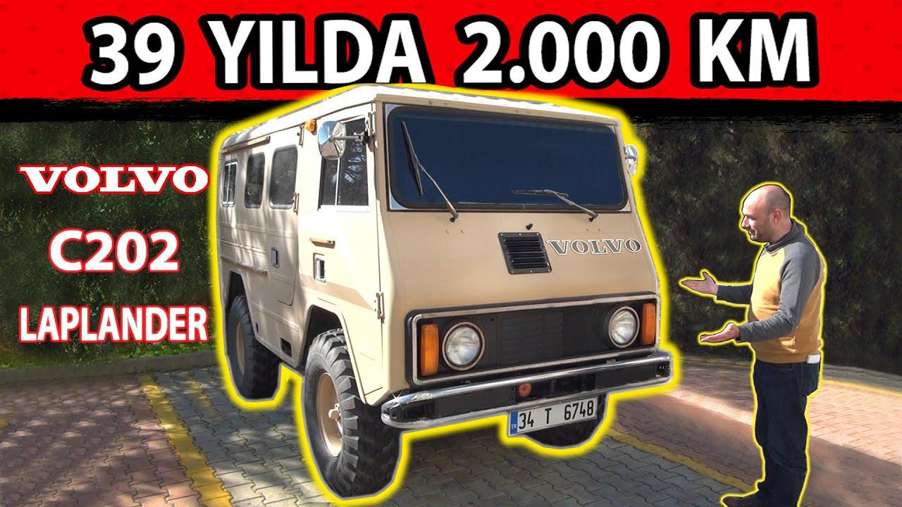 Volvo C202 Laplander (1982) / Unimog gibi Volvo 4x4 / Sadece 2.023 KM'de / Dededen Toruna