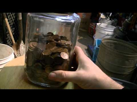 HOW TO MELT PENNIES