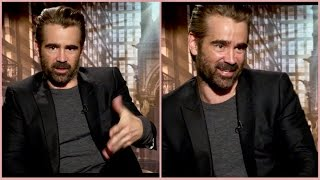 Why Colin Farrell freaked out more turning 25 than 40, his sons, being famous & Fantastic Beasts