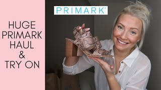 HUGE PRIMARK TRY ON HAUL! MARCH 2019.. | NEW IN FASHION + SALE ITEMS