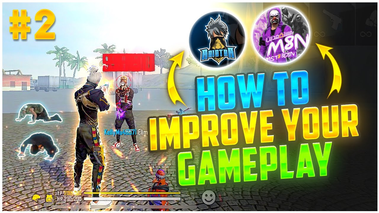 How To Improve Your Gameplay Like Raistar 🔥   Part- #2   Top 5 Secret Tricks    Pro Tricks Free Fire
