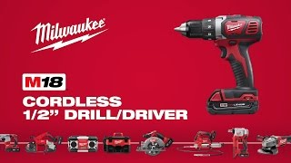 "Milwaukee® M18™ 1/2"" Drill Driver 2606-22CT"