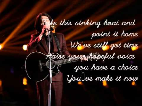 Taylor John Williams-Falling Slowly-The Voice 7[Lyrics]