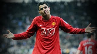 ronaldo manchester united debut