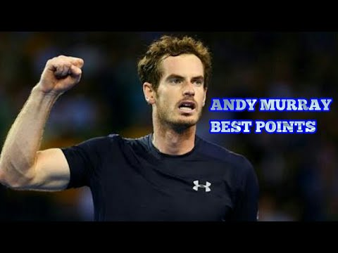 ANDY MURRAY BEST POINTS EVER...
