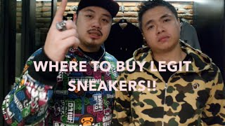 WHERE TO BUY LEGIT SNEAKERS IN JAKARTA!