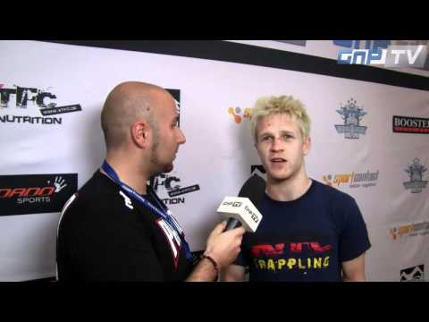FILA Grappling EM: Stefan Hoss im Interview mit GnP-TV