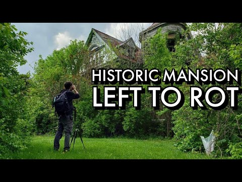 Massive Abandoned Victorian Mansion | Urban Exploring | Cincinnati History