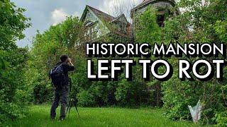 Massive Abandoned Victorian Mansion | Urban Exploring | Cincinnati History