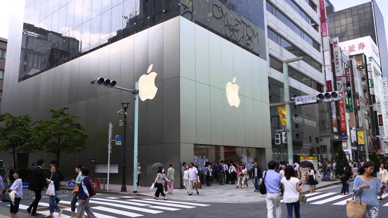 Apple Store Ginza - アップルストア銀座 - YouTube
