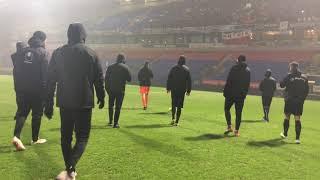 Stimmung nach Testspiel Bolton Wanderers gegen 1. FC Magdeburg