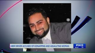 Uber driver charged with kidnapping New York woman