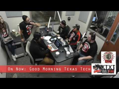 Good Morning Texas Tech: College Radio Day Edition!