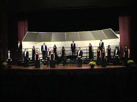 Blue Valley West Chamber Choir - I Am But a Small Voice