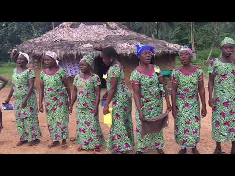 Gbeaken Village, Maryland County | Women Traditional Dance | SheaMoringaTV