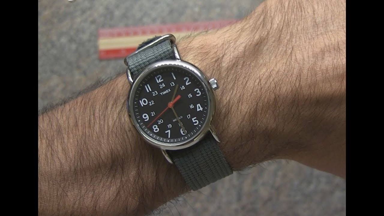 Timex Weekender Slip Thru Strap Watch Review Youtube