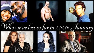 Who We've Lost So Far in 2020 (Notable Deaths in January)